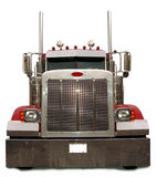 Red Semi Truck Royalty Free Stock Image