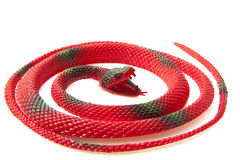 Red Serpentine Stock Images