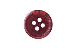 Red sewing button Royalty Free Stock Photos