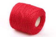Red sewing string Royalty Free Stock Photos
