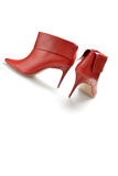 Red sexy boots Royalty Free Stock Image