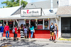 The Red Shack take out on Ryder Street in Provincetown, MA. Royalty Free Stock Image