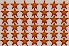 Red Shaded Blurred Star Pattern on white background Seamless Illustration. Modern Design. Can be used for business, website and royalty free illustration