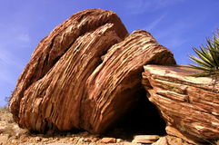 Red shale Royalty Free Stock Photos