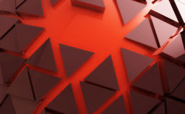 Red shape abstract background. Nice red shape abstract background wallpaper Royalty Free Stock Images