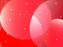 red shapes background Royalty Free Stock Photography