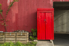 Red shed Stock Images