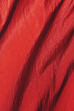 Red sheer fabric Royalty Free Stock Photos