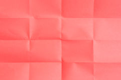 Red sheet of paper Stock Image