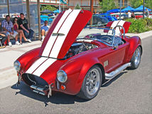 Red Shelby Cobra Stock Photos
