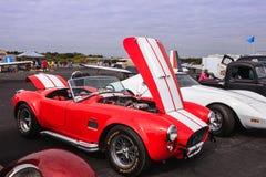 Red 427 Shelby Cobra Car Stock Photo