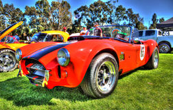 1965 red Shelby Cobra Stock Photography