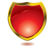 Red shield Stock Photos