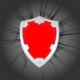 Red shield Stock Images