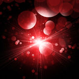 Red Shine Background Stock Images