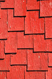 Red Shingles Royalty Free Stock Photos