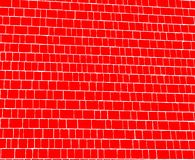Red Shingles Background. Red shingles lined by whited makes a great background Royalty Free Stock Images