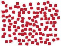 Funky Confetti Background stock illustration