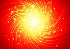 Red shining stars Royalty Free Stock Images