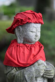 Red Shinto statue Royalty Free Stock Image