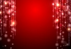 Red shiny background Stock Photos