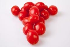 Red shiny cherry tomatoes Royalty Free Stock Photo