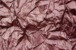 Red Shiny Metallic  Paper Texture Background Stock Photo