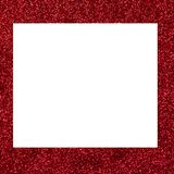 Red shiny sequined background with space for text top view.  Stock Photos