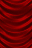 Red shiny silk texture close up Stock Photos