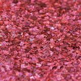 Red shiny texture, sequins with blur background Royalty Free Stock Photos