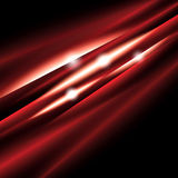 Red shiny wave Stock Images