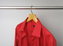 Red shirt Stock Photo