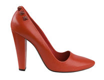 Red shoe Royalty Free Stock Photos