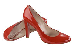 Red shoe Stock Photography