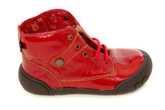Red shoe Royalty Free Stock Image
