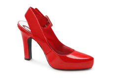 Red shoe Stock Photos