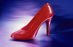 Red shoe Stock Photo