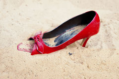 Red Shoe Stock Photos