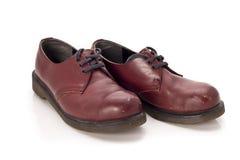 Red shoes. A pair of red shoesA pair of red shoes Royalty Free Stock Image