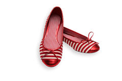 Free Red Shoes Stock Photography - 11944082
