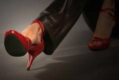 Red Shoes Stock Photos