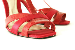 Red shoes Royalty Free Stock Photography