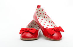 Red shoes Royalty Free Stock Photos