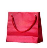 Red shopping bag. Stock Image