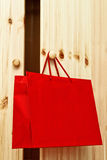 Red Shopping bag Royalty Free Stock Image