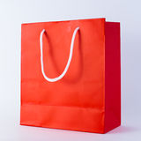 Red shopping bag Stock Image