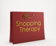 Red Shopping bag Royalty Free Stock Photography