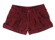 Red short pant Stock Images