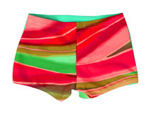 red shorts Stock Image