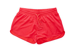 Red shorts Royalty Free Stock Photos